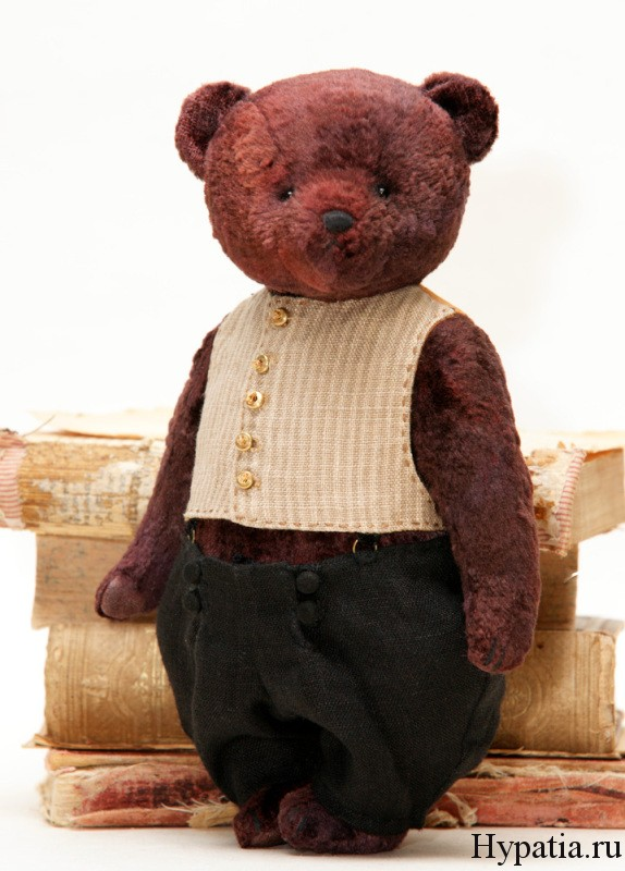 Плюшевый авторский медведь