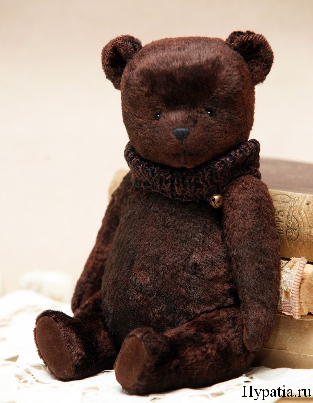 Медведь с опилками хендмейд