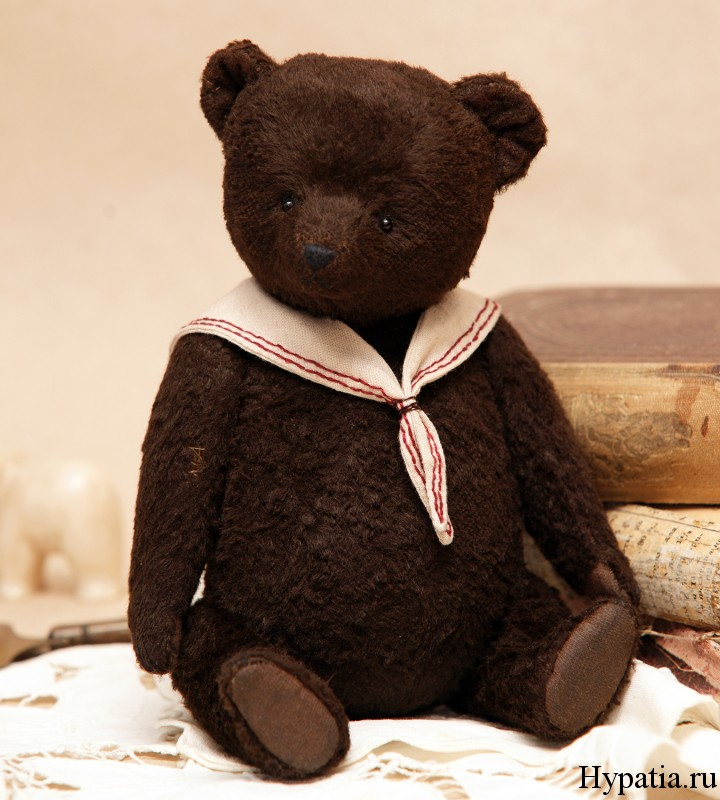 Авторский медведь из вискозы