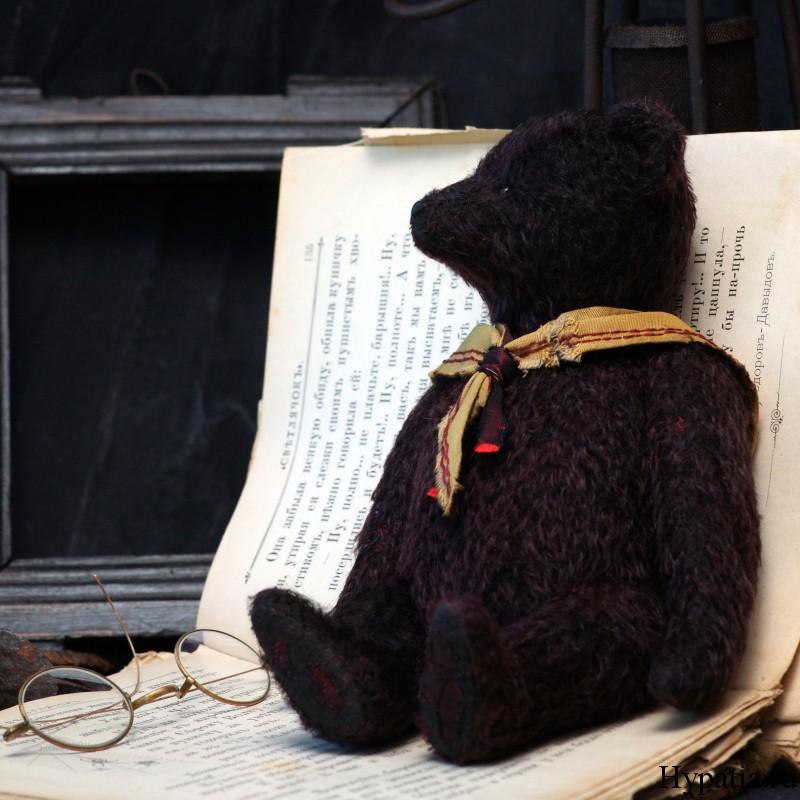 Антиквариат медведь ретро