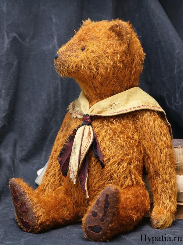 Авторский медведь Тедди антик
