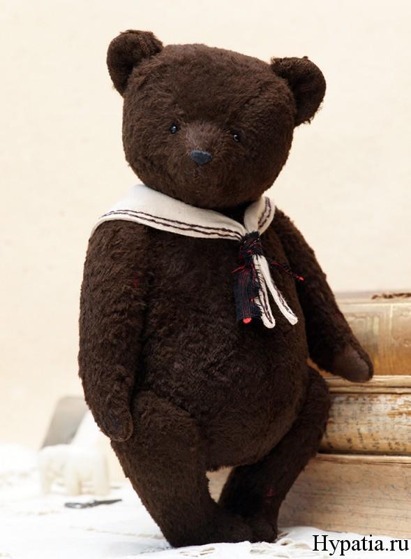 Винтажный мишка Тедди фото