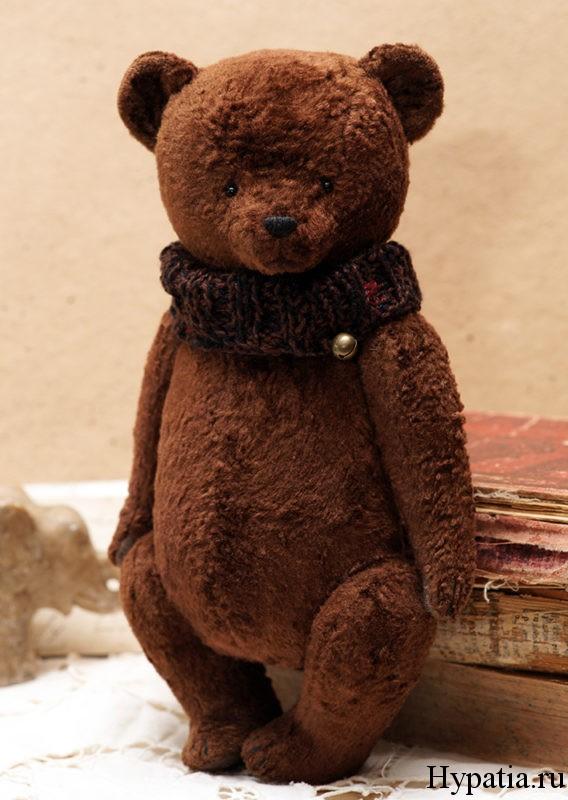 Авторский медведь ручной работы