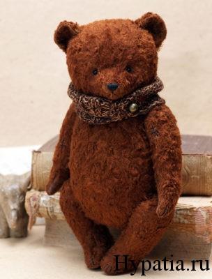 Ретро медведь с опилками