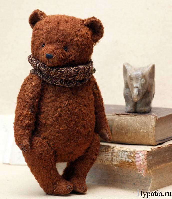 Мишка Тедди из плюша