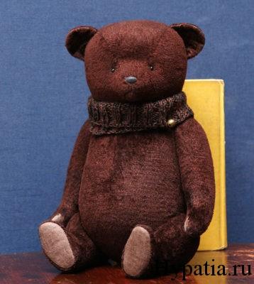 Винтажный медведь хендмейд