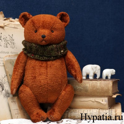 Авторские медведи в винтажном стиле