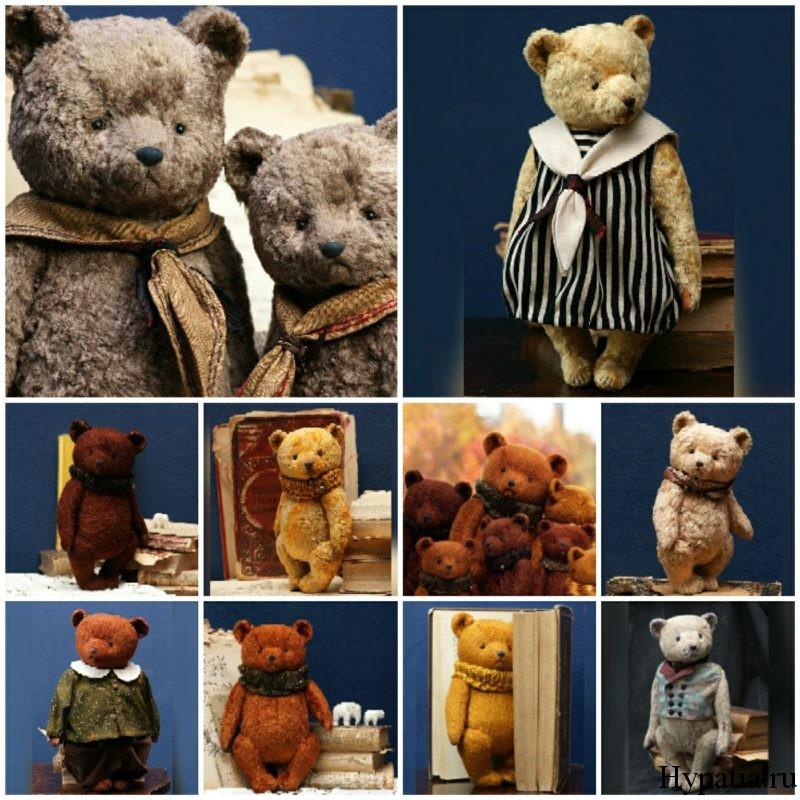 Плюшевые мишки и медведи