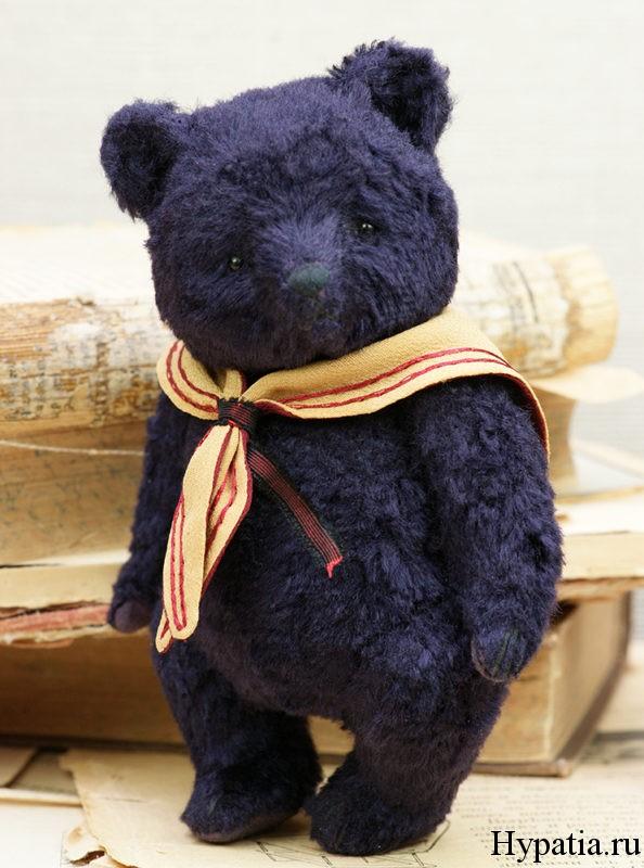 Авторский медведь игрушка ручной работы
