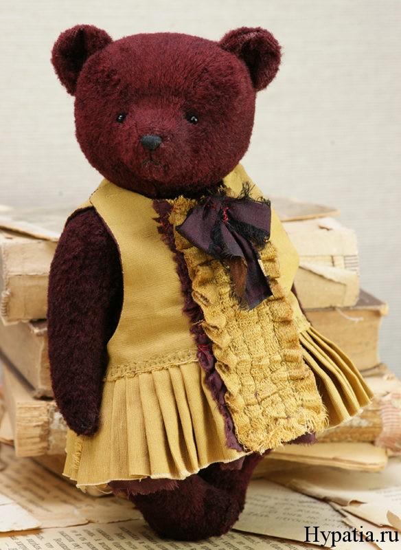 Оливия мишка девочка в платье