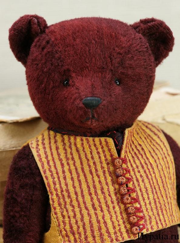 Медведь коллекционный из опилок эксклюзивный подарок