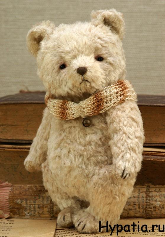 Хендмейд подарок интерьерный медведь белый