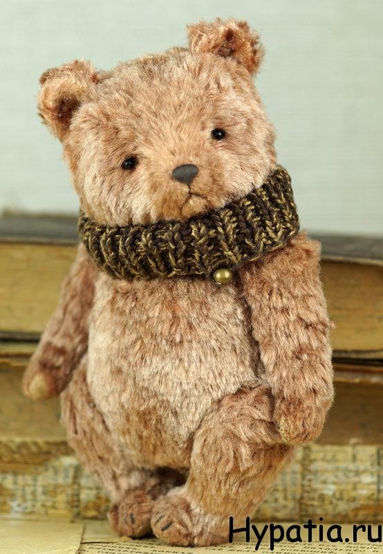 Авторский медведь интерьерная игрушка